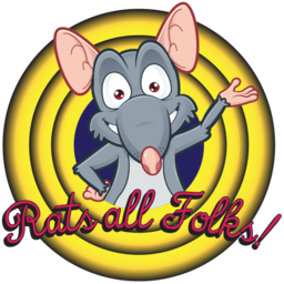 Rats all folks logo
